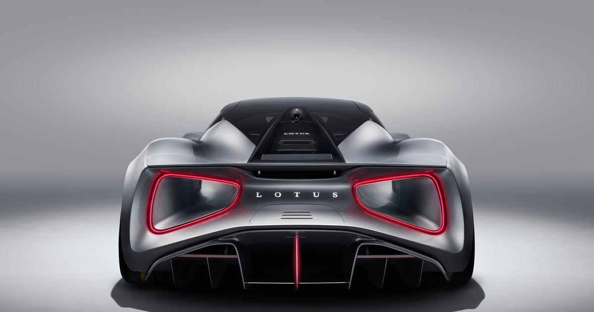 2,000-horsepower Lotus Evija becomes the world's most powerful production car