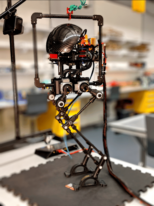 LEONARDO the robot can walk and fly