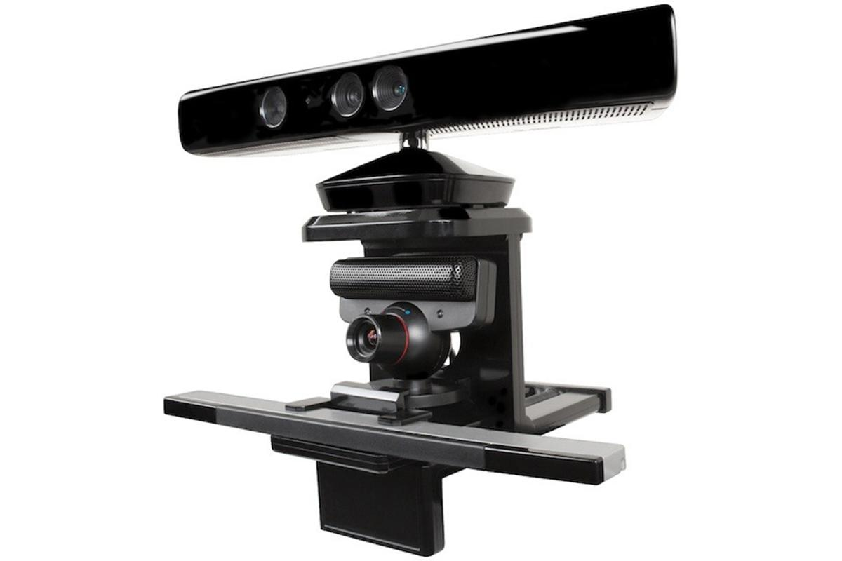 dreamGEAR's TriMount for the Kinect, PS Eye and Wii sensor bar