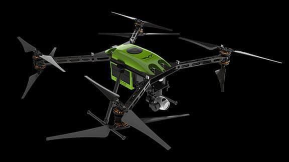 The RangePro X8's maximum relative altitude rating is 5,000 m (16,404 ft) above sea level