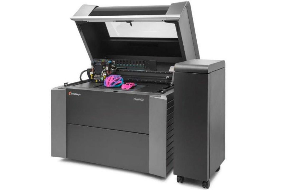 Stratasys has launched the Objet500 Connex3
