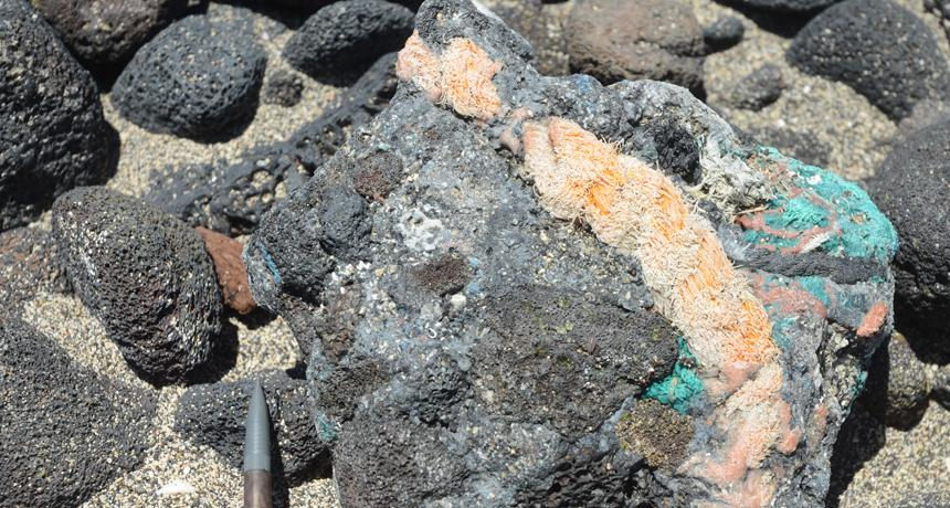 Rocks fused withplastic,first discovered on a Hawaiian beach in 2014, could be one of the geological proofs needed to declare that human activity has triggered a new geological epoch, called the Anthropocene