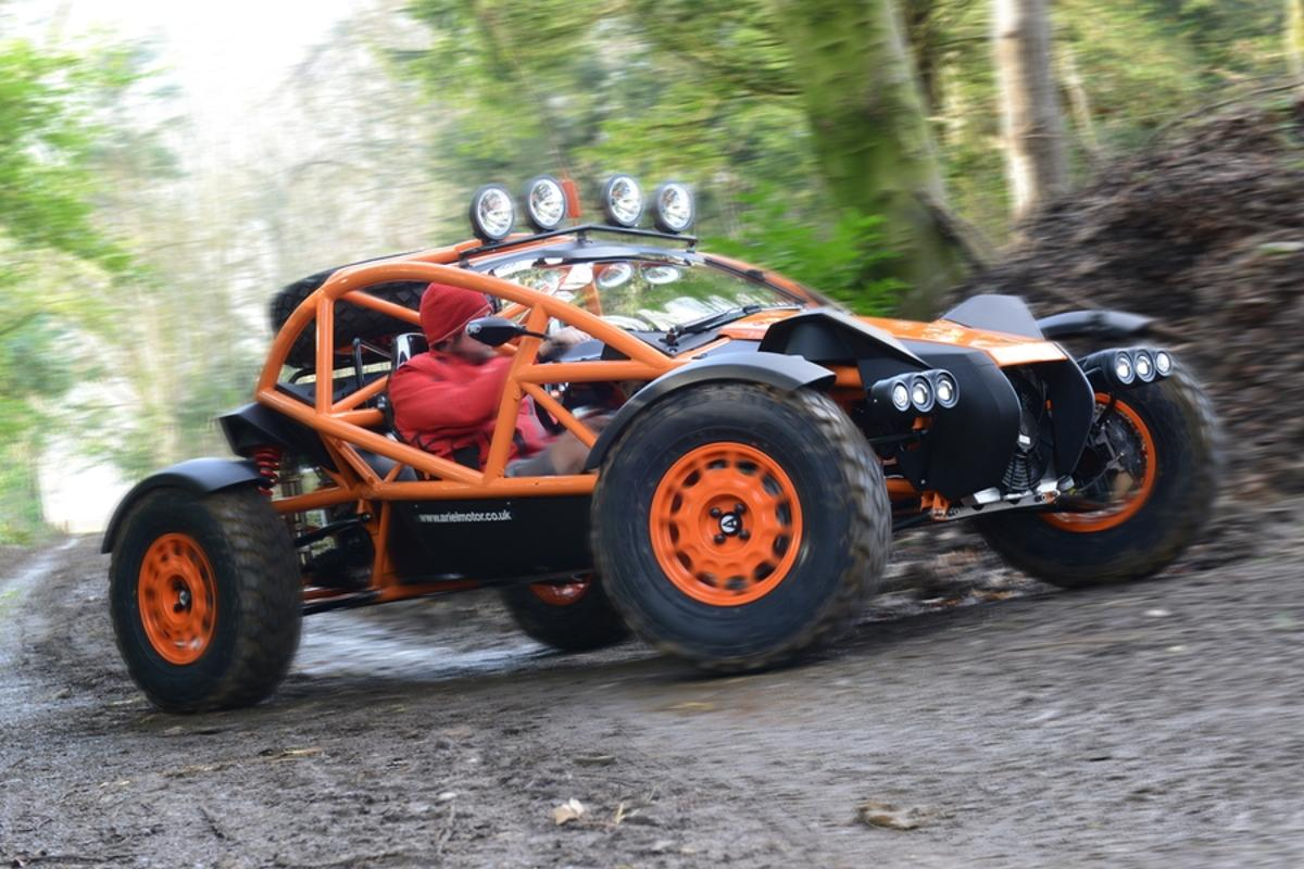 The Ariel Nomad is a new off-road buggy