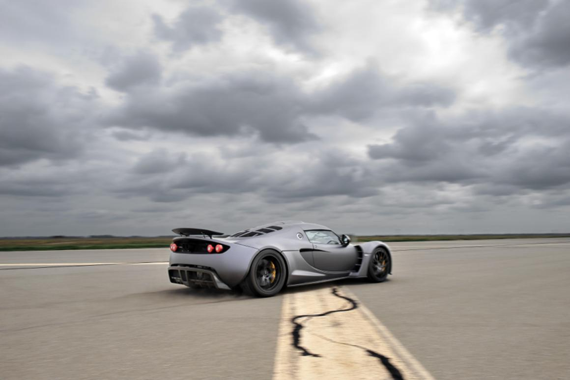 Hennessey Venom GT broke Guinness World Record for a production car with a run of 265.7 mph (407 km/h)