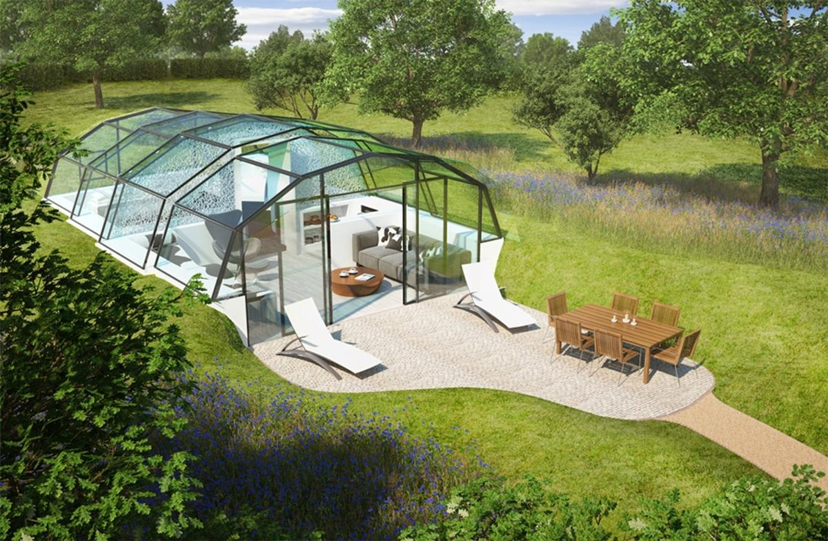 The Photon Space is a glass building designed to improve our health by maximizing exposure to daylight (Image: The Photon Project)