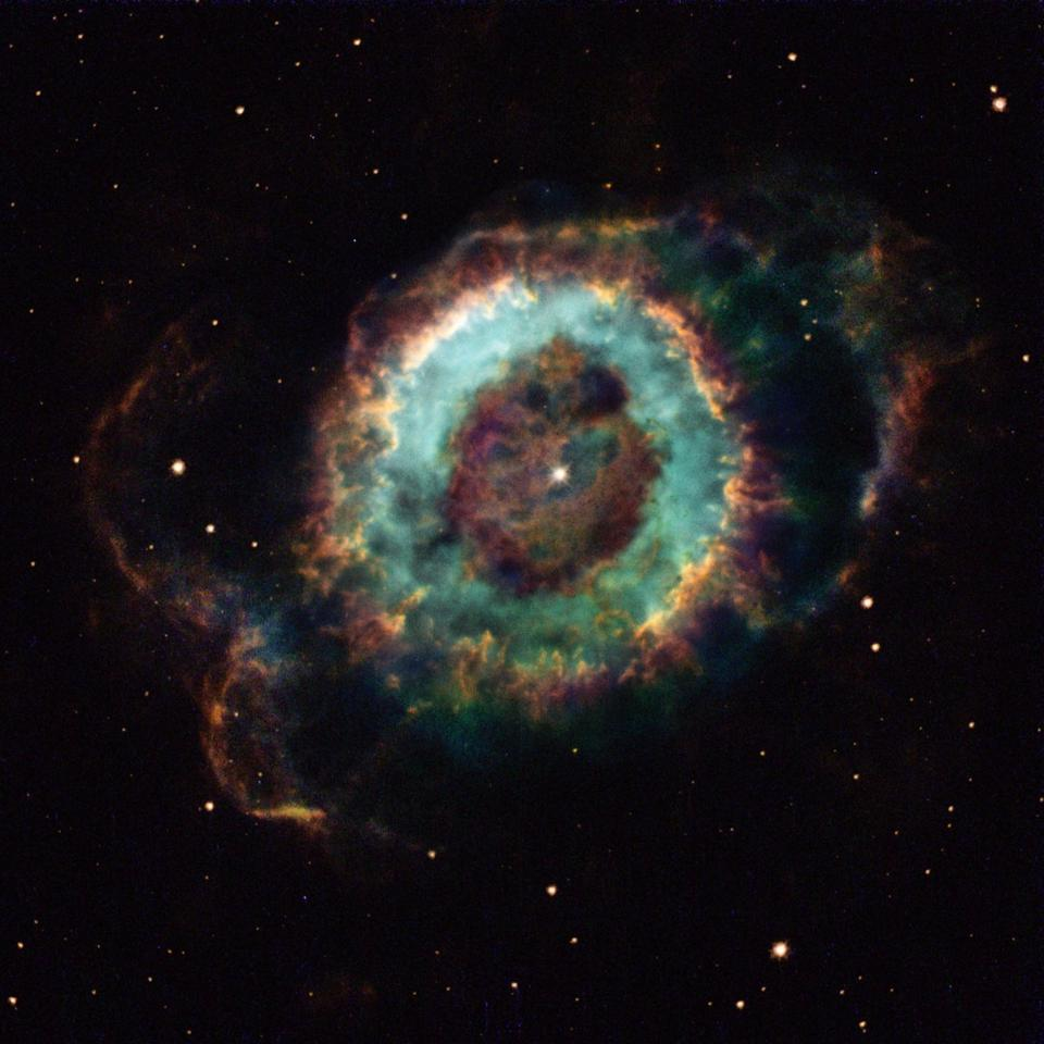 "Using a new ""supernova machine,"" researchers can study the formation of nebulae, such as the Little Ghost Nebula pictured here"