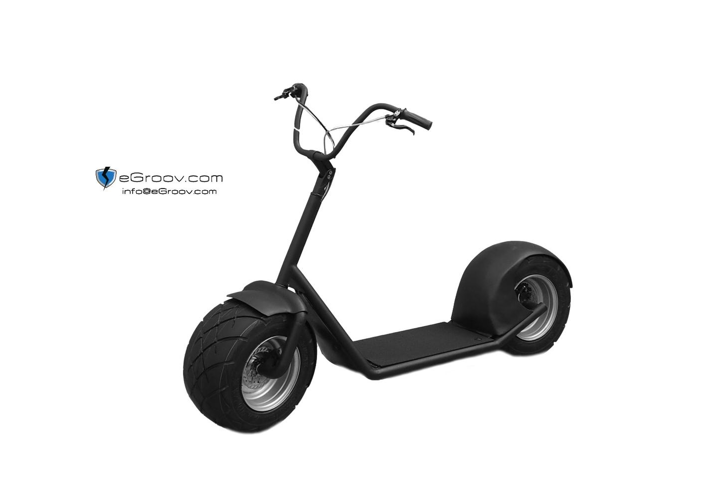 The eGroov has two powered wheels