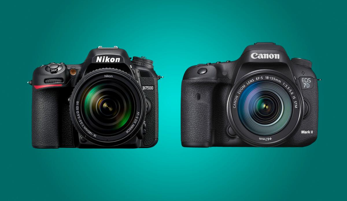 We compare the key specs and features of the Nikon D7500 and the Canon 7D Mark II
