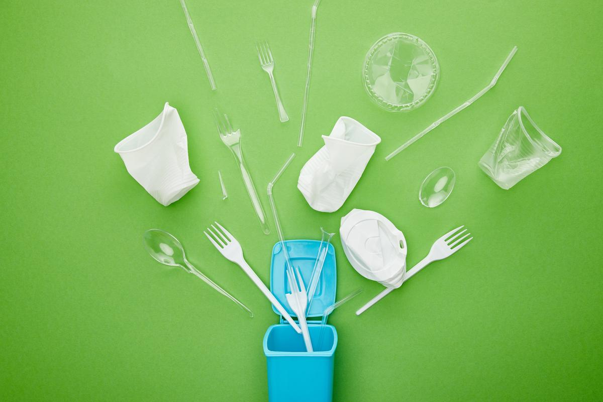 Most plastics commonly used today take a long time to break down in the environment, but scientists are developing greener alternatives