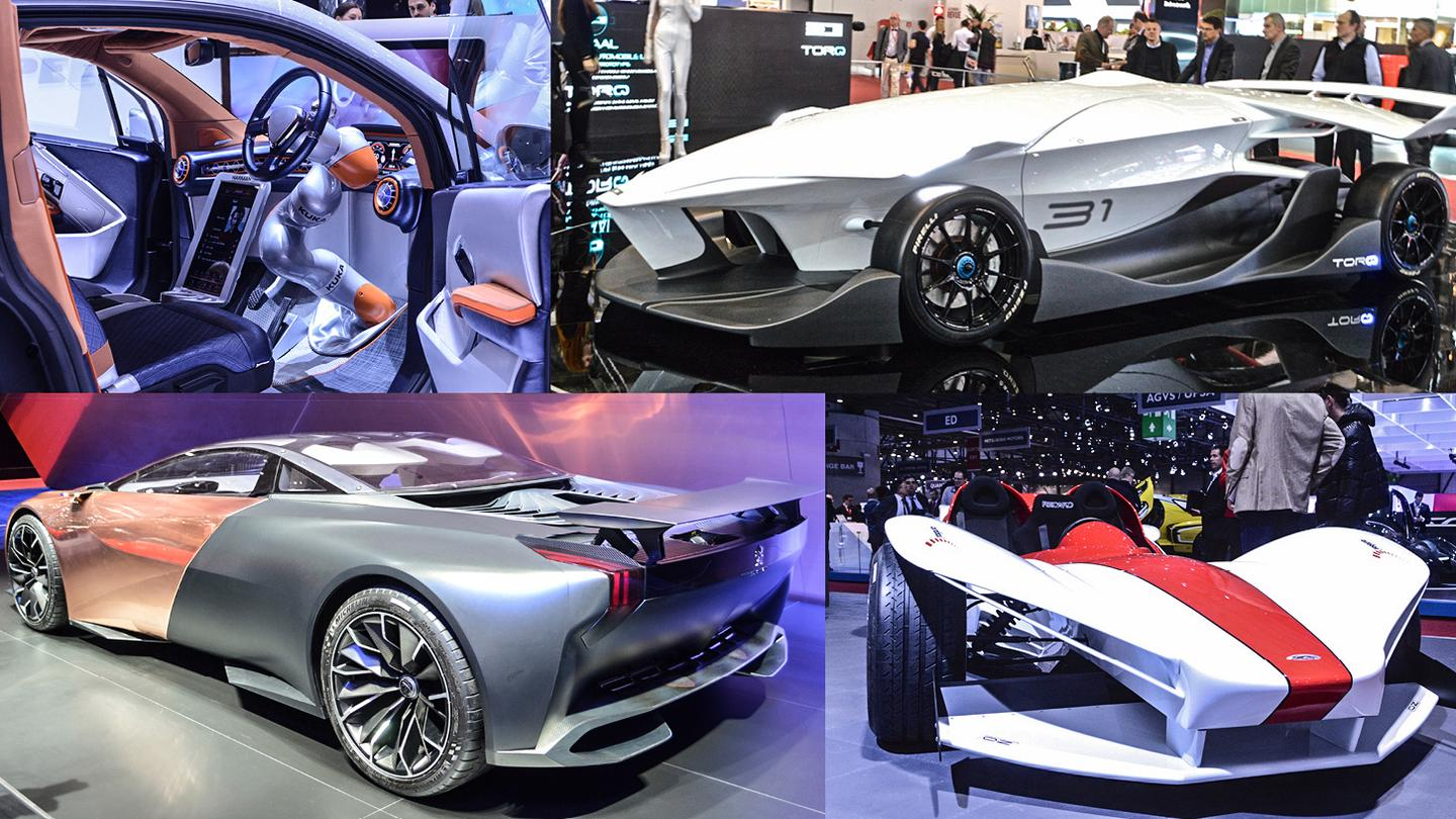 Concept cars of the 2015 Geneva Motor Show (Photo: C.C. Weiss/Gizmag.com)