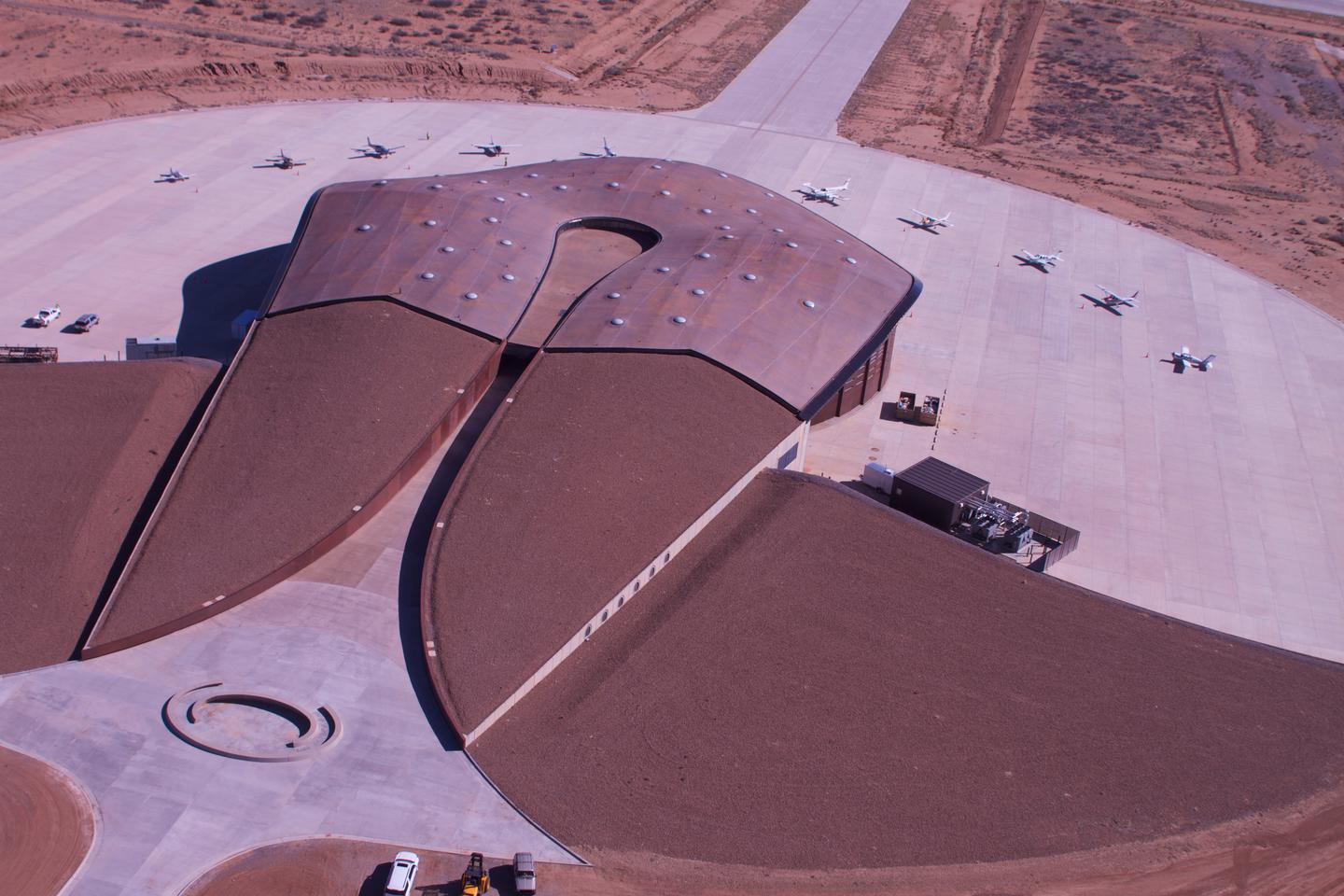 Spaceport America from above (Photo: Spaceport America)