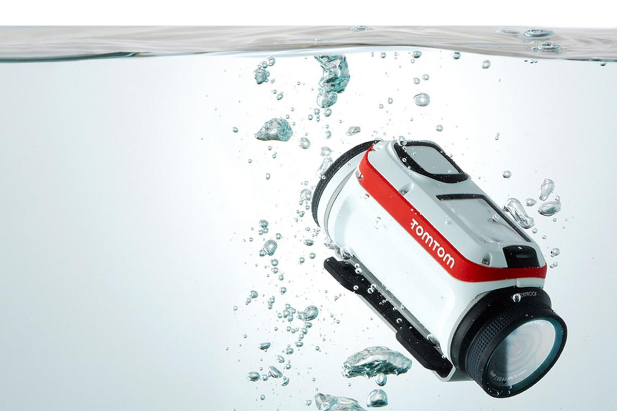 The new sensor-packed TomTom Bandit action camera