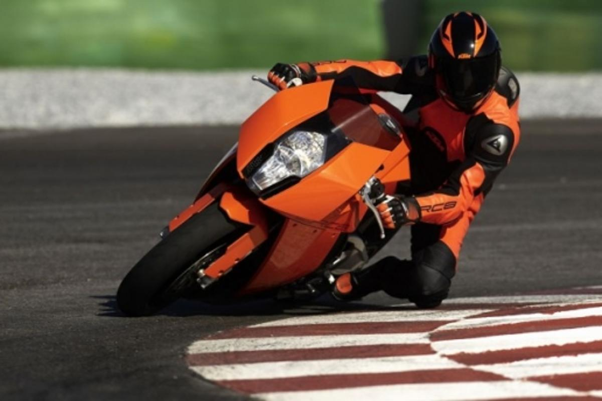 KTM's RC8 superbike contender