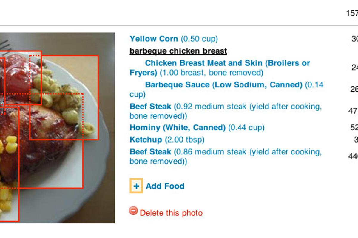 PlateMate is a crowd-sourced dieting system, in which an online community determines the caloric value of users' meals