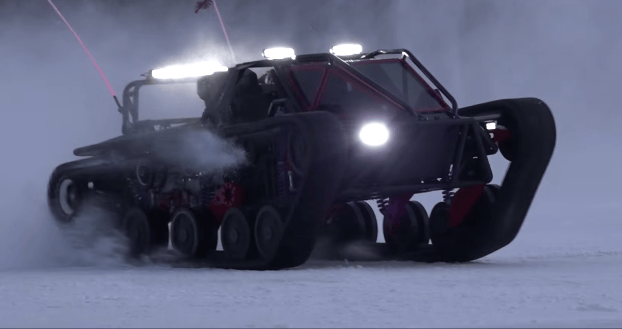 "Ripsaw EV3-F1: ""the most obnoxious vehicle ever made"""