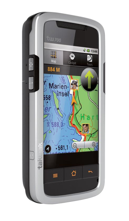 The Tak Wak tw700 GPS-smartphone-radio-buddy tracking system.