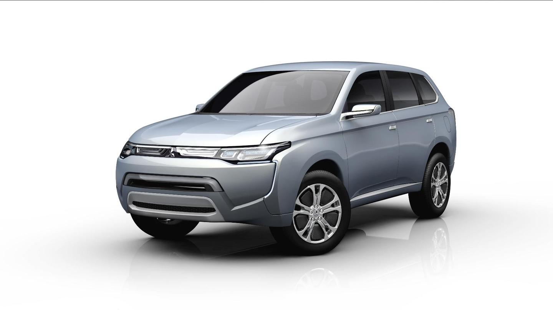 The Mitsubishi Concept PX-MiEV II PHEV.