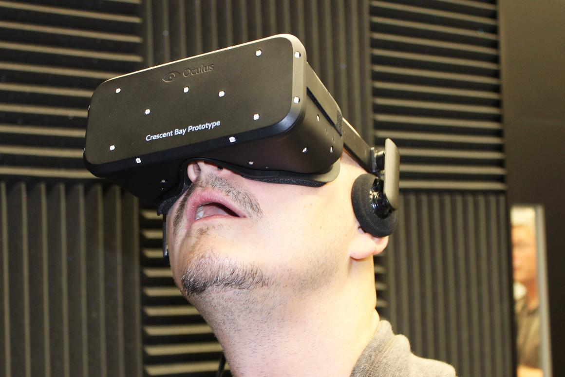 Gizmag met with Oculus VR at CES 2015, and saw a company on the up-and-up (Photo: Will Shanklin/Gizmag.com)