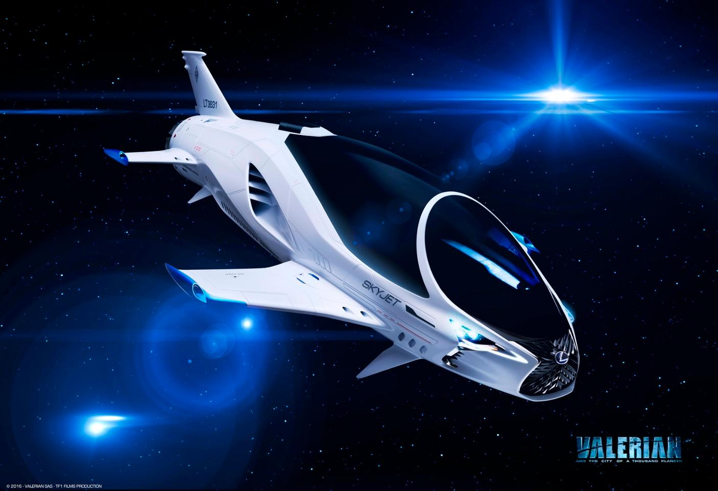 The SkyJet will feature in themovie Valerian and the City of a Thousand Planets