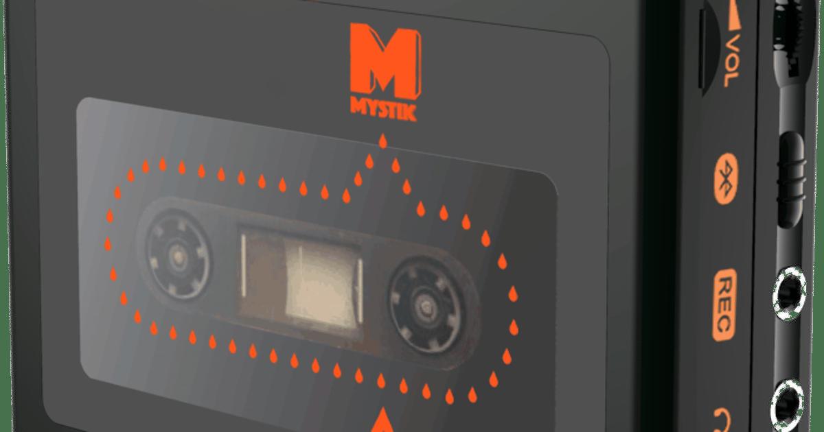 Mystik portable music player awaits audio cassette revival