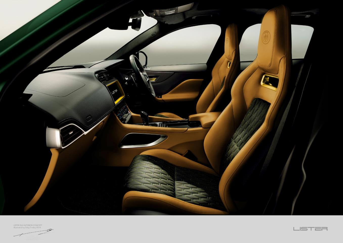 Lister LFP: gorgeous interior