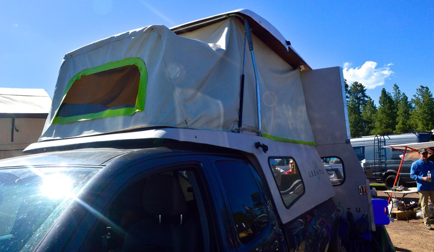 Leentu shows its latest prototype at Overland Expo West 2017