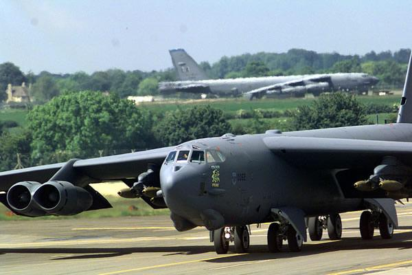 The upgrade allows more weapons to be carried inside the B-52 instead of on hard points (Image: USAF)