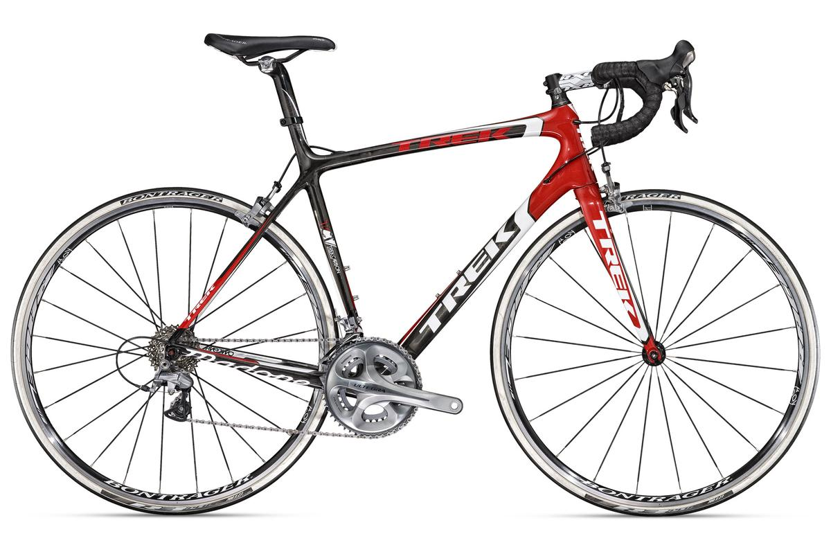 Products such as the frame of this Trek Madone could find new life, as Trek Bicycle begins a carbon fiber recycling program