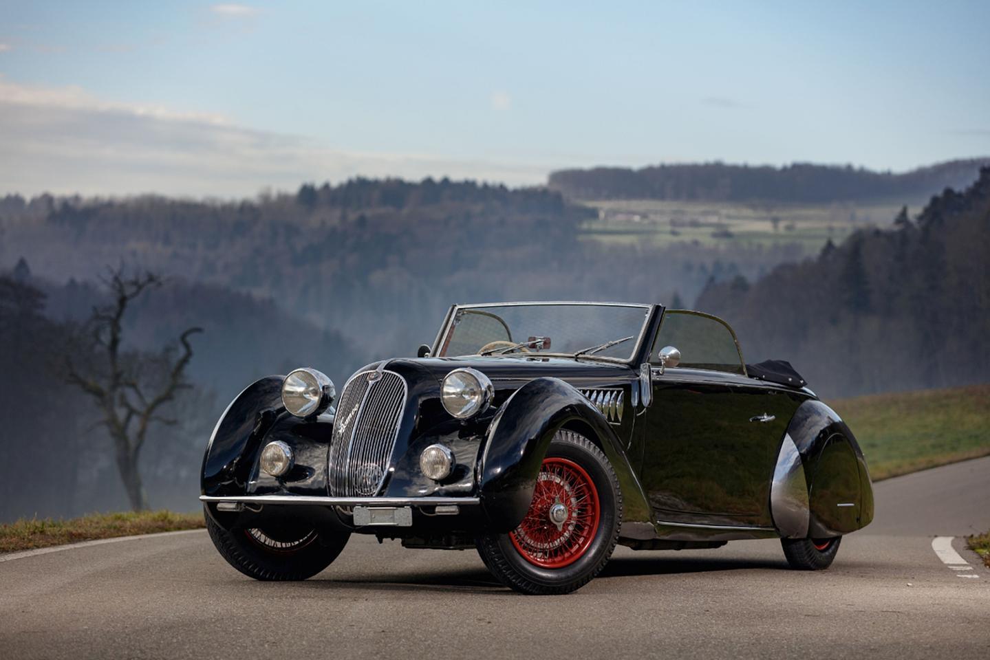 1938 Alfa Romeo 6C 2300 B Lungo cabriolet Worblaufen