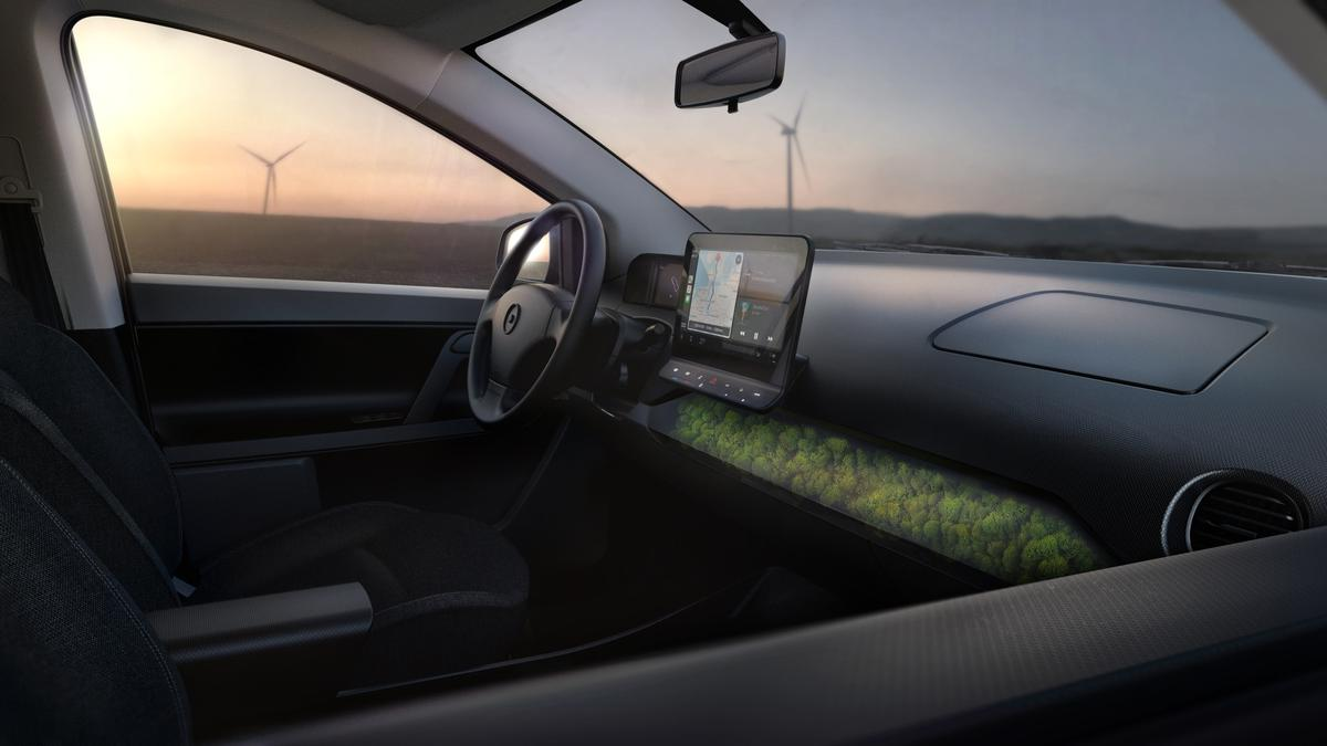 A closer look at the interior of the upcoming Sion solar-integrated family EV