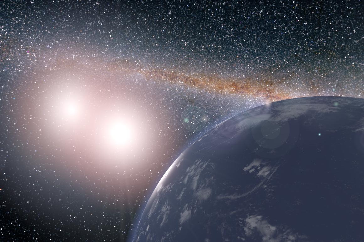The report recommends building new space telescopes and ground instruments to make a more detailed study of exoplanets like Kepler 16b, seen here in an artist's concept