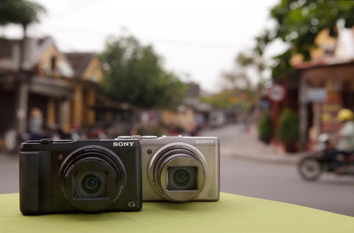 Sony's 20-megapixel Cyber-shot HX50V compact superzoom