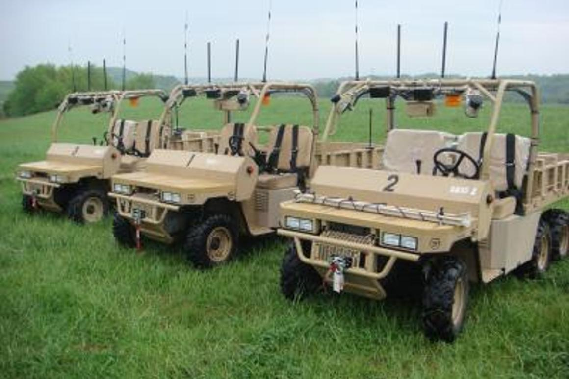 The GUSS autonomous vehicles developed by Virginia Tech are to make their debut at the 2010 RIMPAC war games