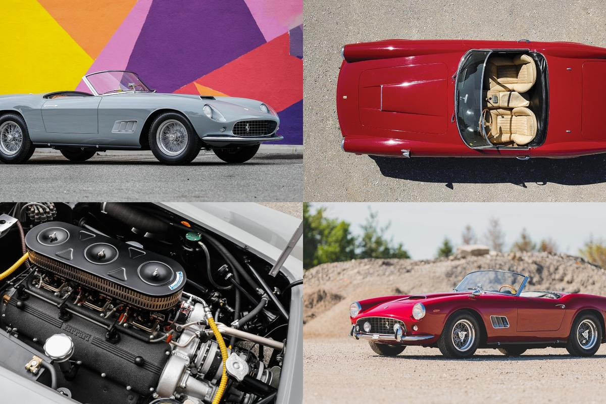 Since 2008, eight Ferrari 250 GT California Spiders have sold for more than $10 million, with the highest price doubling in that time. The prices fetched by the two sought-after cars in Monterey will provide great insight into the top end of the market.