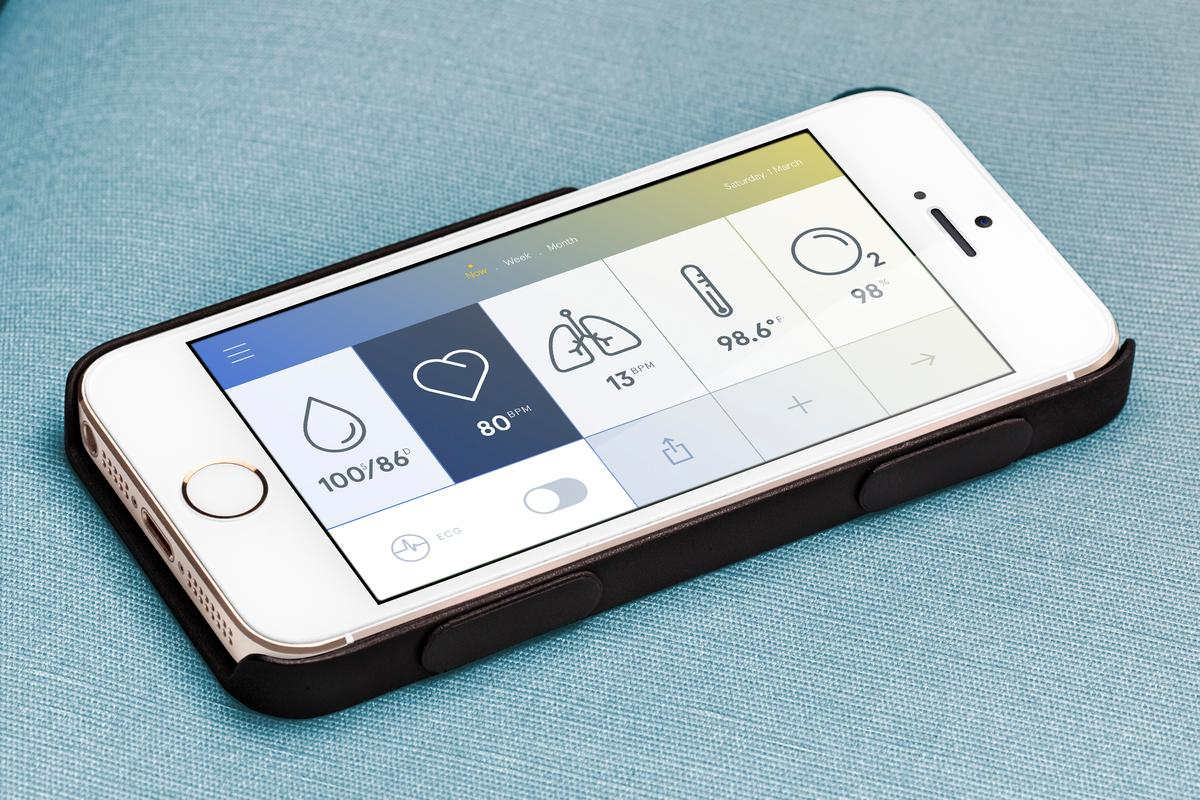 The US$199 Wello health monitoring iPhone case