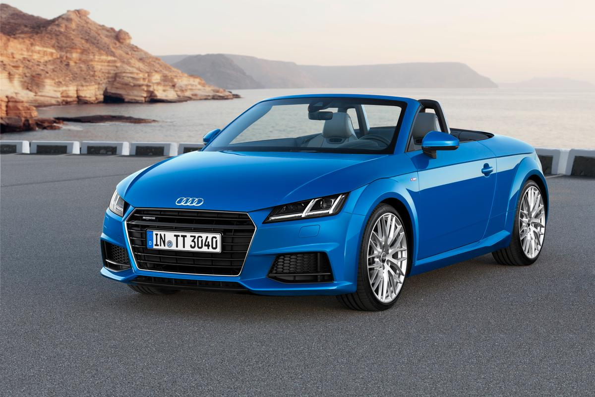Audi has extended its new TT range with the TT and TTS Roadsters