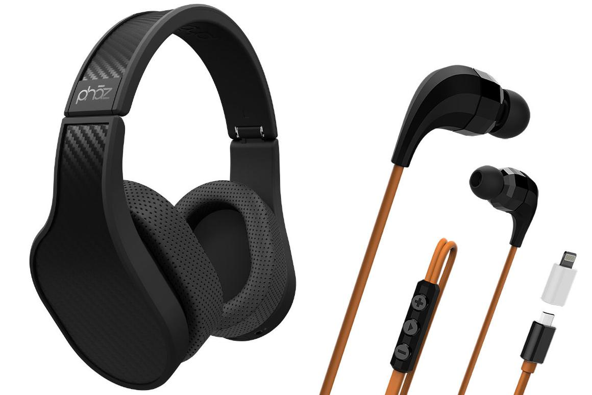 The Model P5 Digital Headphones and Model Z1 Digital Earphones