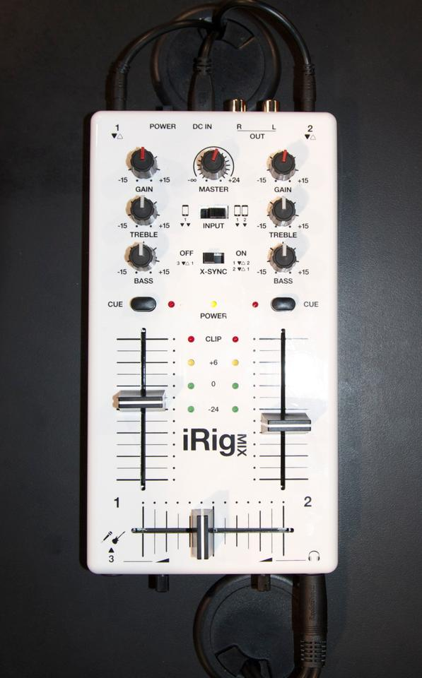 The iRig MIX on show at NAMM recently
