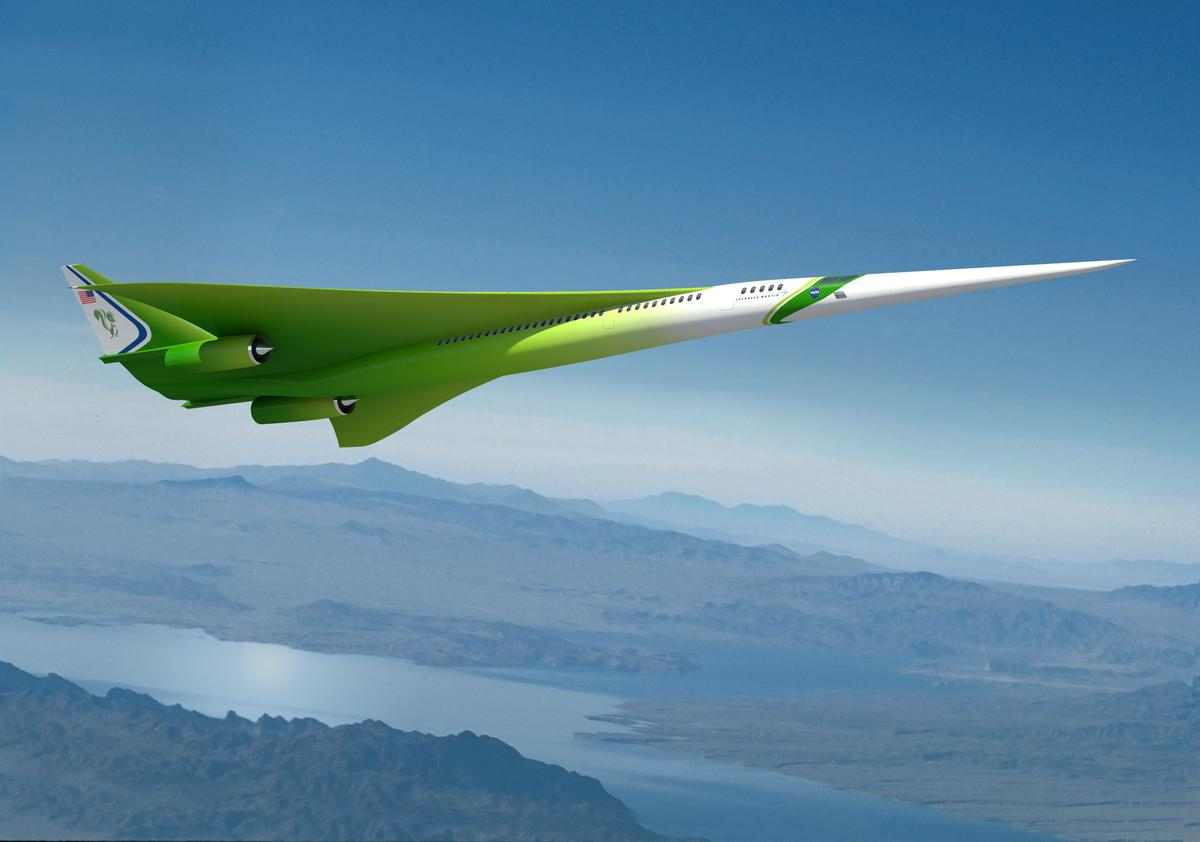 The Lockheed Martin future supersonic advanced concept (Image: Lockheed Martin/NASA)