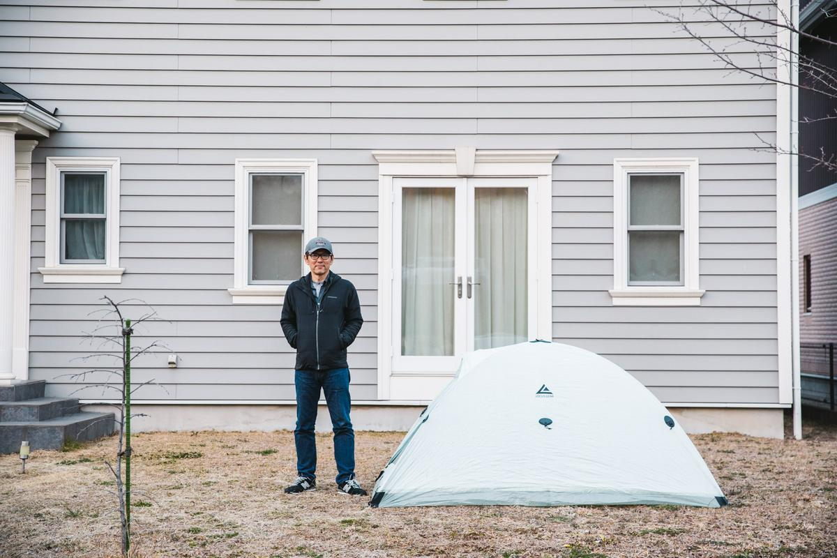 Founder and designer of Locus Gear Jotaro Yoshida began developing the Djedi Dome tent four years ago