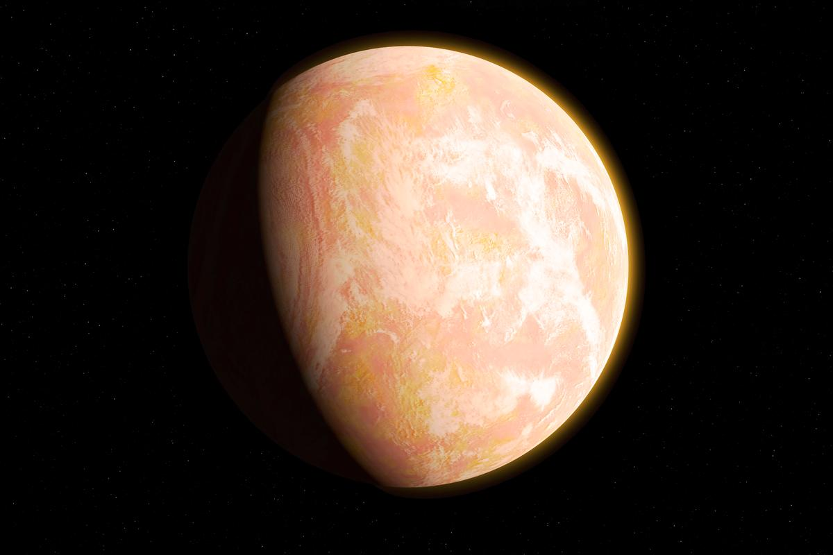 An artist's interpretation of the atmosphere of Archean Earth, prior to 2.4 billion years ago. A new study suggests it may return to this oxygen-poor, methane-rich atmosphere in about 1 billion years' time