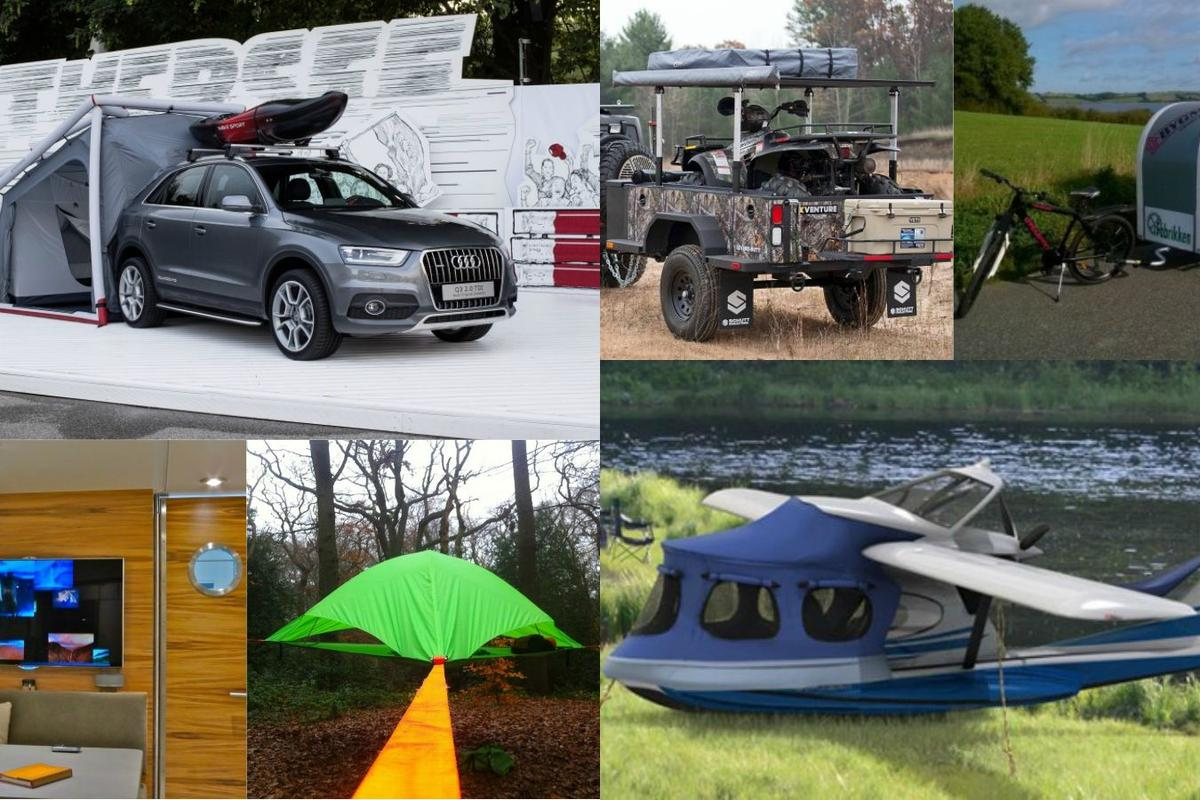 RVs, campers and tents 2014