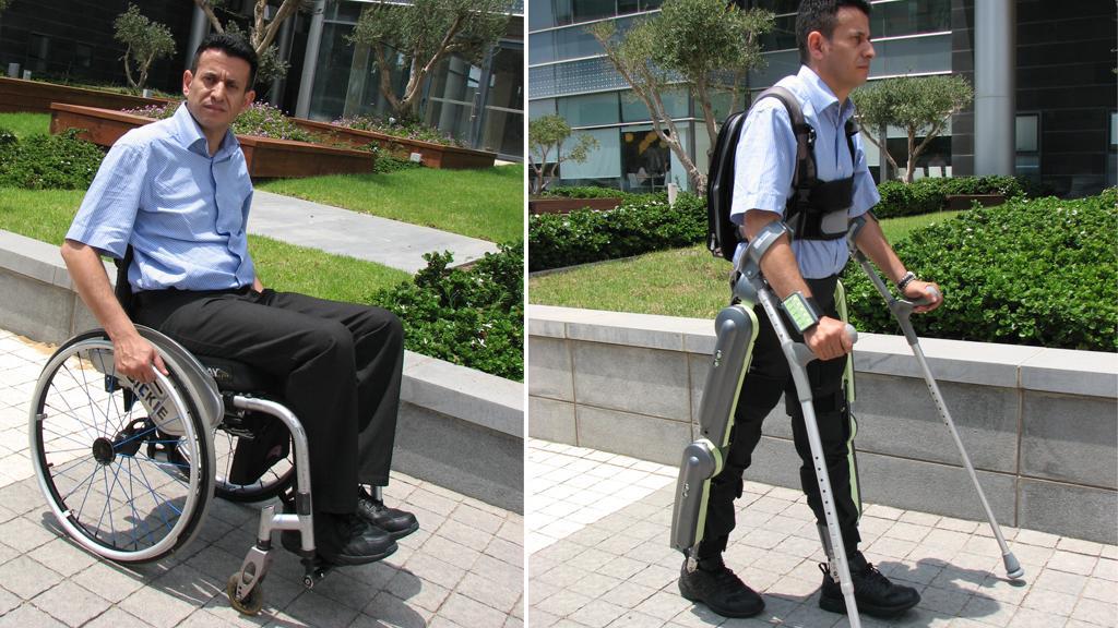The ReWalk robotic exoskeleton is designed to get paraplegics out of their wheelchairs