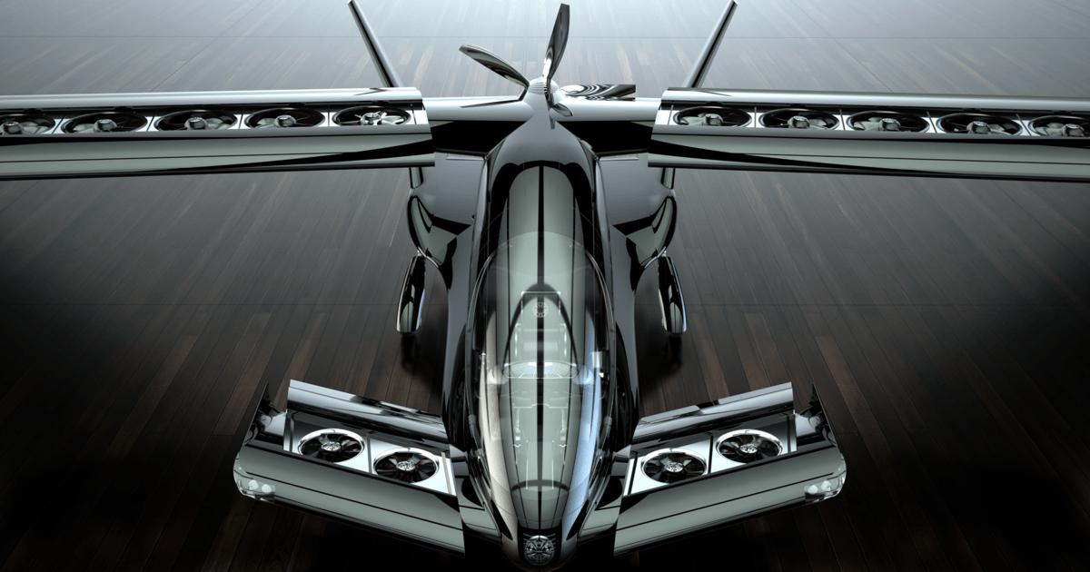 Interview: Horizon presents its long-range Cavorite X5 hybrid eVTOL