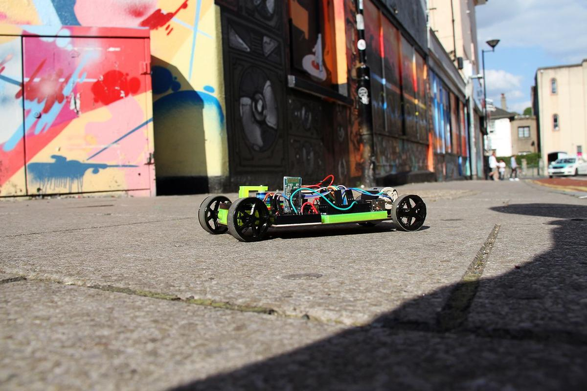 The Maker Club's Carduino RC car bot