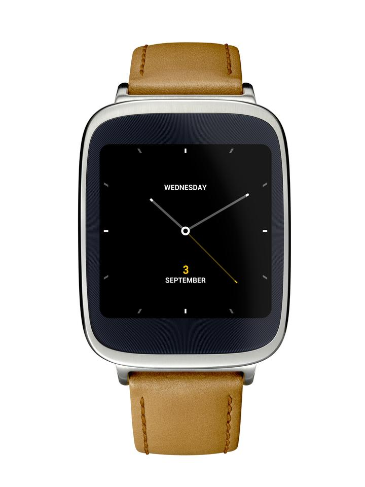 User can choose from a number of custom watch faces to fit the mood or occasion