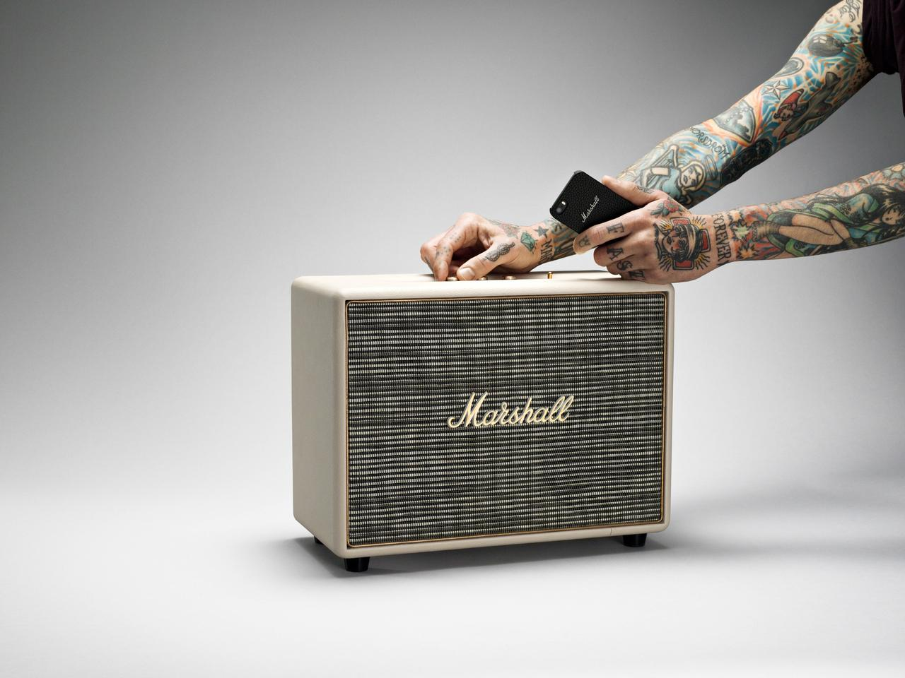 The Marshall Woburn streaming speaker system