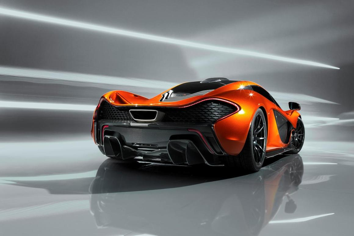 The highly anticipated P1 will debut as a design study at the 2012 Paris Motor Show