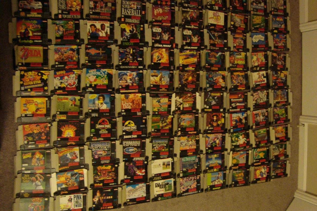 Collecting boxes is often harder than finding the games