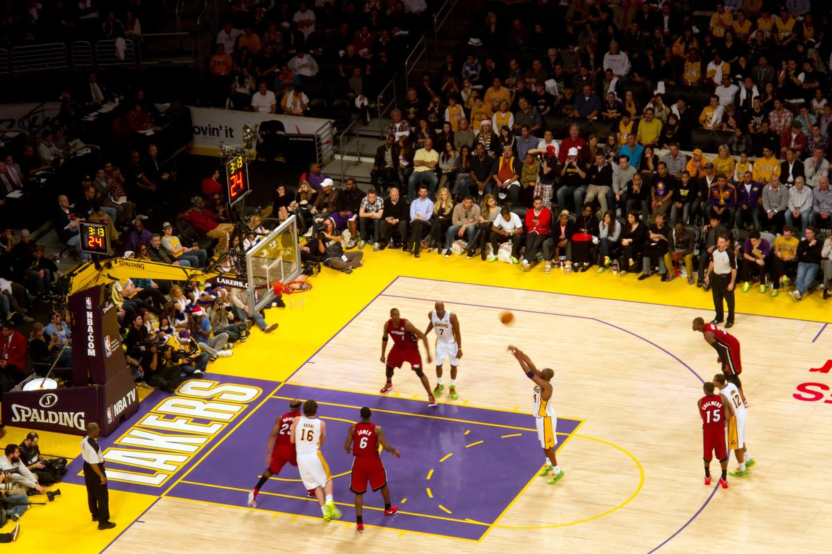 The NBA is bringing motion tracking cameras to all 30 arenas next season (Photo: Joel Shawn / Shutterstock.com)